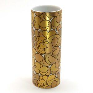 Bjørn Wiinblad Rosenthal Studio-Linie Gold Vase