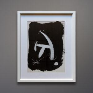 Joan Miró 1967 Pochoir