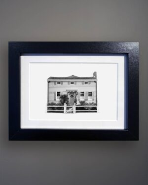 8-456 Vernacular Cottage Portrait Greenport NY-Black