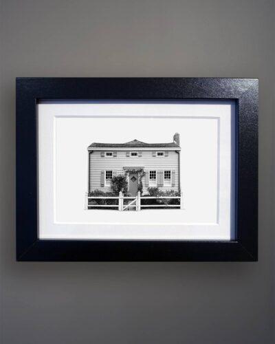 8-456 Vernacular Cottage Portrait Greenport NY-Black