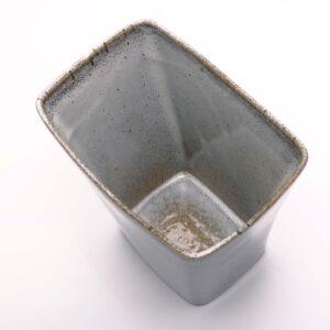 ballard-pottery-speckled-gray-vase-planter