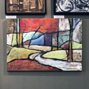 Diane Hulse Framed Original Oil Painting On Linen