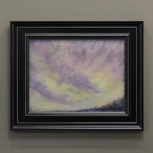 MJ Picilio Riverhead Acadia National Park Sky Abstract-black-frame