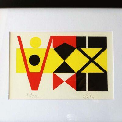 Mid-Century Original Silkscreen Print Soto-01