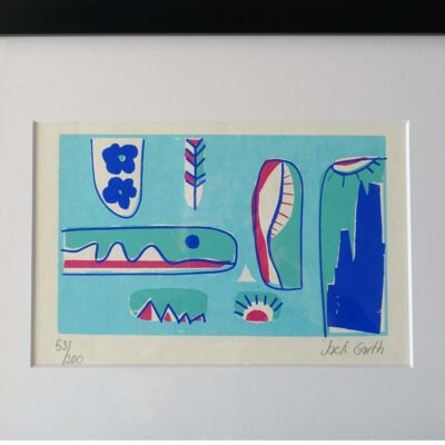 Mid-Century Original Silkscreen Print Garth-03