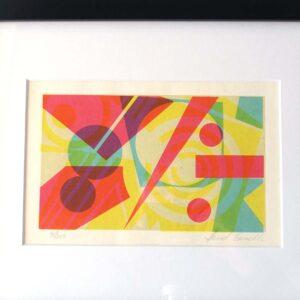 10×12 Mid-Century Original Silkscreen Print Genelli