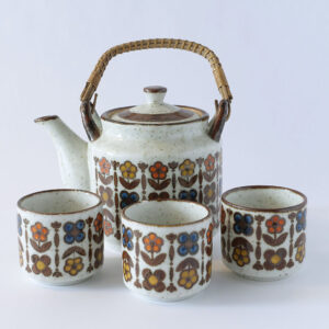 Flower Design Otagiri Japan Tea Service-1