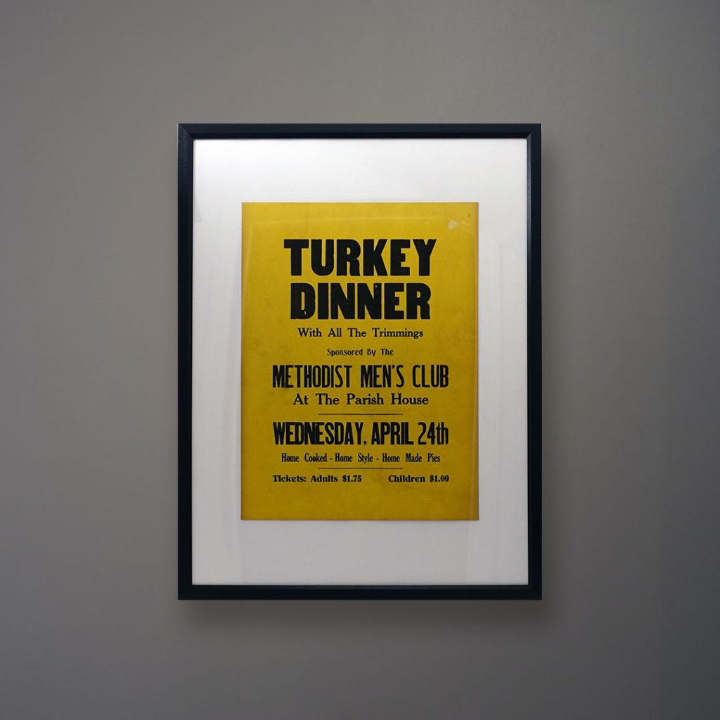 greenport poster-turkey-dinner