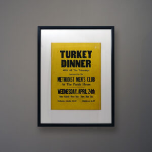 greenport poster-turkey-dinner