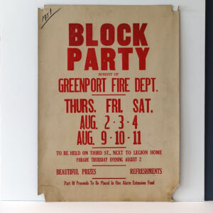 block-party-greenport-fire-dept-1951