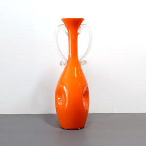 bright-orange-empoli-handled-art-glass-vase-2