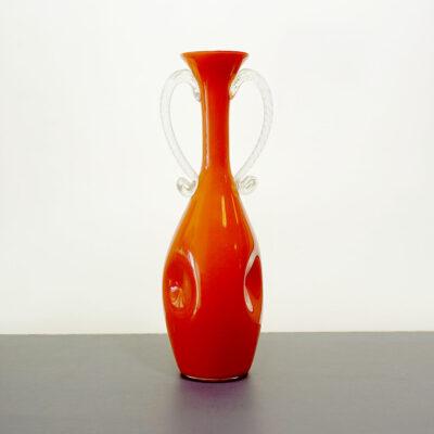 bright-orange-empoli-handled-art-glass-vase-2