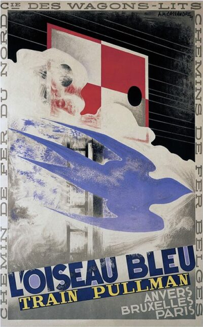 loiseau-bleu-poster-small