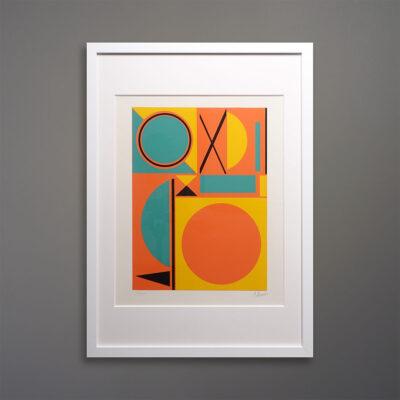 wall-of-five-silkscreen-prints
